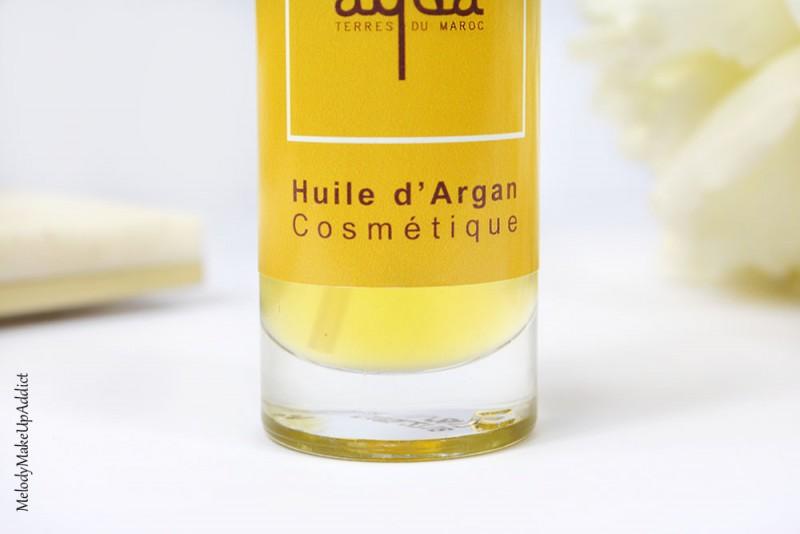 comment utiliser l'huile d'argan