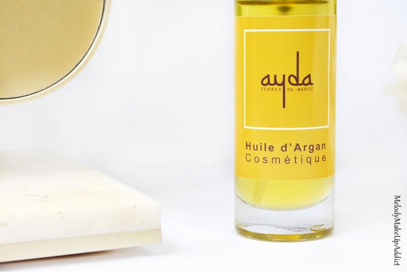 huile d'argan ayda