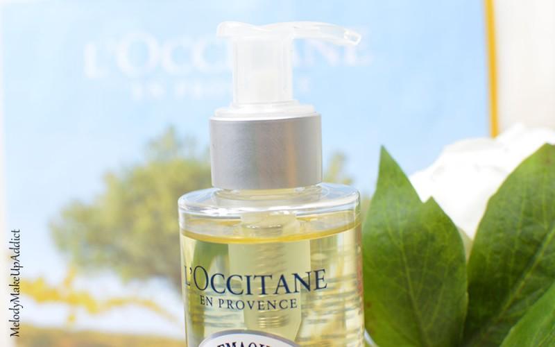 huile démaquillante l'occitane
