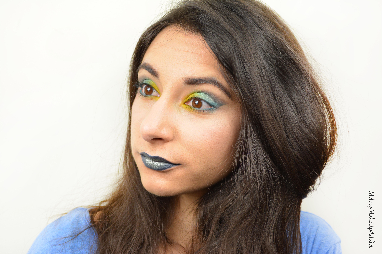 Un maquillage haut en couleurs !