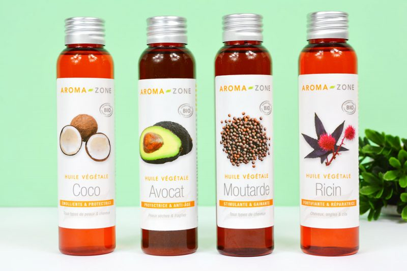 huiles végétales aromazone