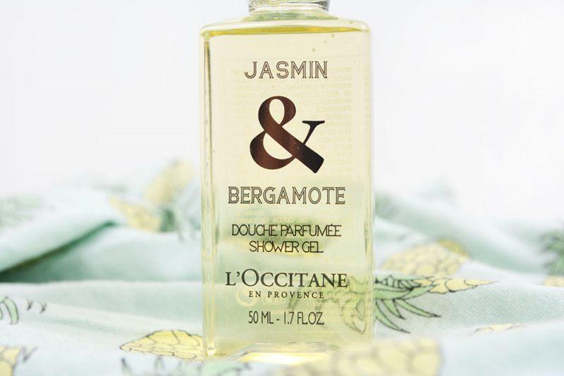 douche parfumée jasmin et bergamote l'occitane
