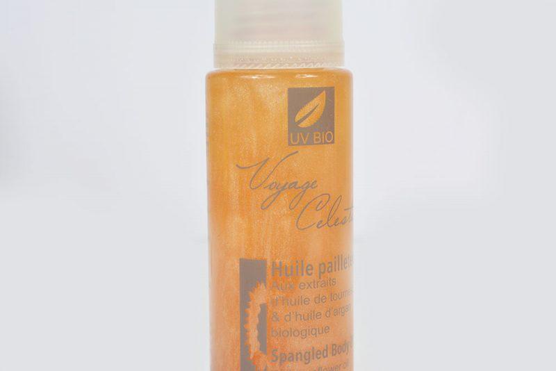 huile pailletée uvbio