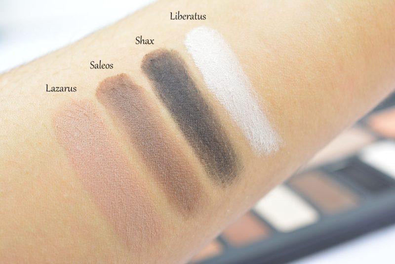 swatch shade light eye contour palette