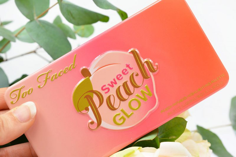 sweet peach glow kit too faced avis