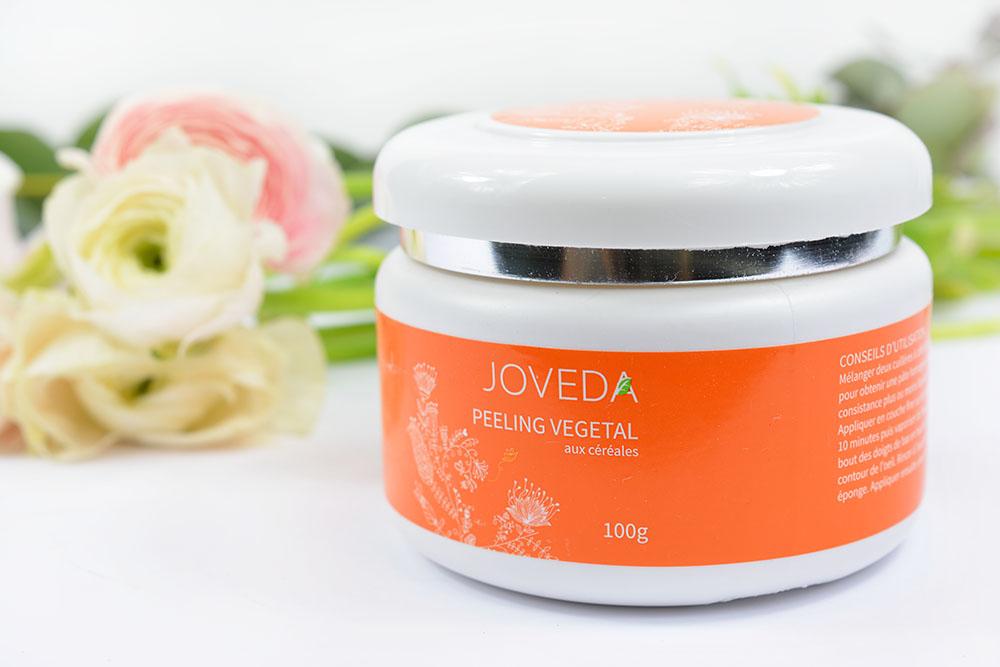 Le peeling végétal aux céréales de la marque Joveda : une petite pépite !