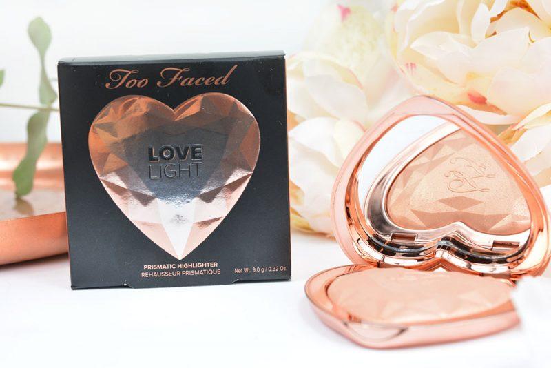highlighter love light de too faced